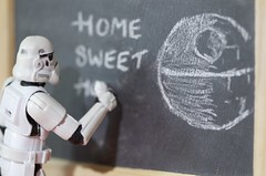 Blackboard, Star Wars Trooper