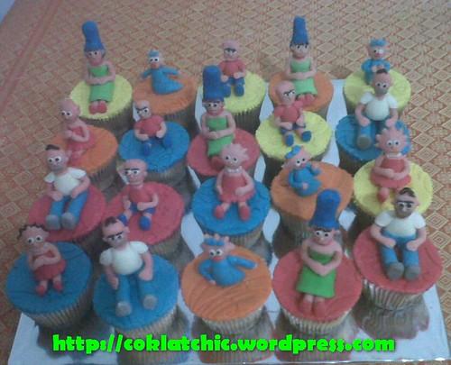 Cupcake The Simpson Family