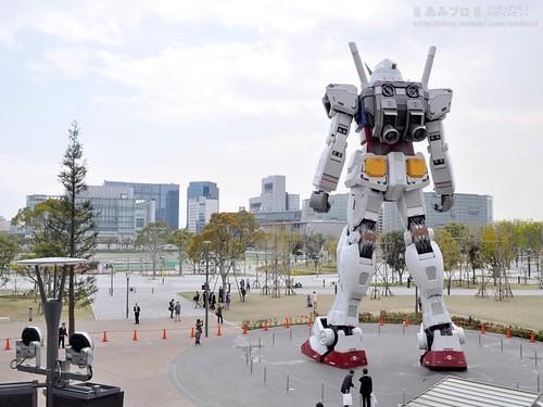 Gunpla Tokyo Gundam Museum Diver City (1)
