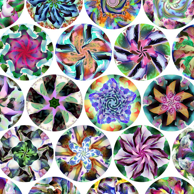 Generative Jigsaw Puzzles with Artwork by Jonathan McCabe