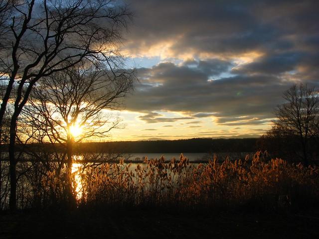 Hudson River Sunset - Sweet and Savoring