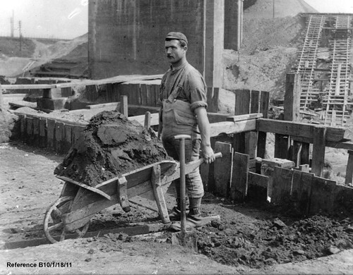 Construction worker, c.1890s. (GB124.B10/10/1/18/11).