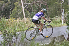 Cycling Up Hill (Female)