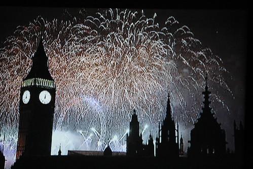Londra: capodanno 2011