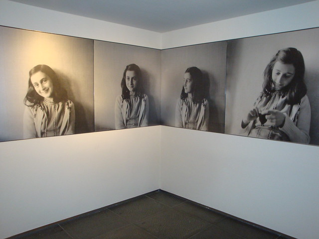 Anne Frank portraits