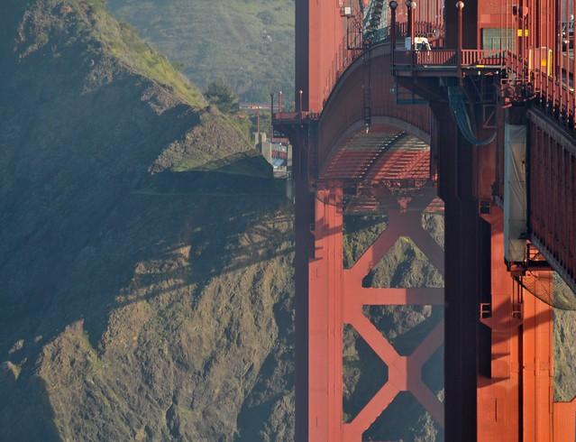 Bridge and Cliff