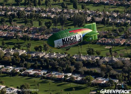 Koch Borthers Dirty Money Flight