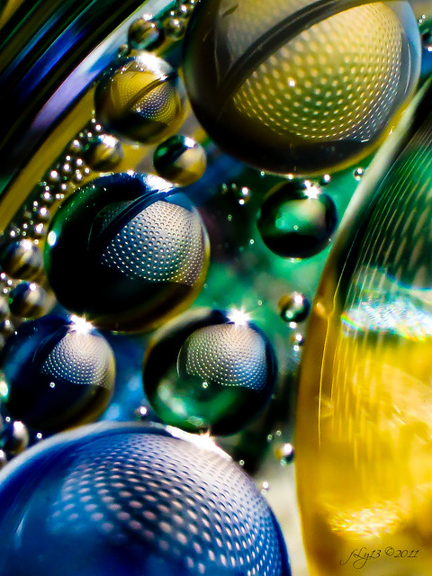 water oil abstract photography