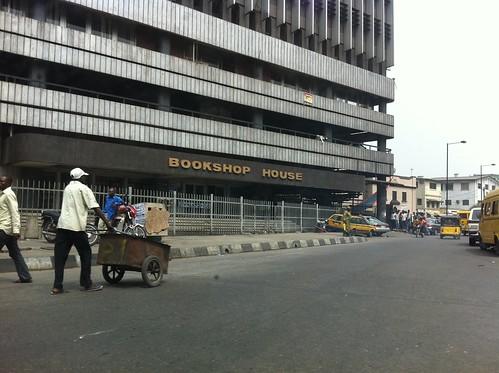 Bookshop Lagos Island Nigeria by Jujufilms