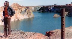 Gold stocks, Gold Mine at Wiluna 1974