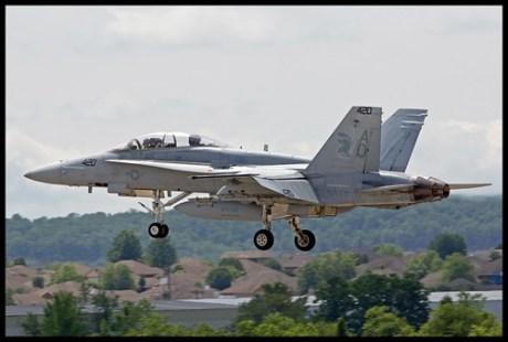 F-18D Hornet VFA-106 Gladiators