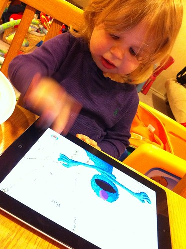 Hanalei's favorite iPad 2 app: Monster at the End of this Book por Wayan Vota