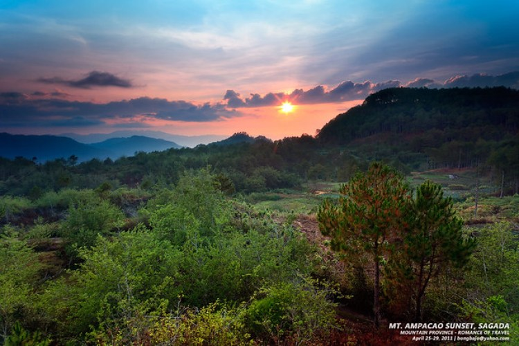 Mt. Ampacao Sunset, Sagada
