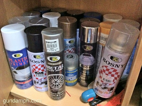 Bosny Spray Paints