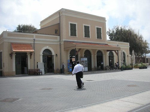 ריקנות במתחם התחנה