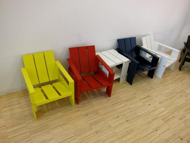 Rietveld child's chair
