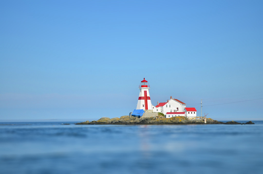 head harbour lightstation (a.k.a. east quoddy lighthouse) // campobello island