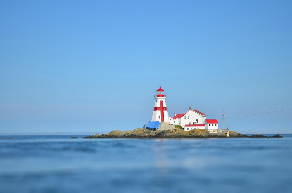 head harbour lightstation (a.k.a. east quoddy lighthouse) // campobello island
