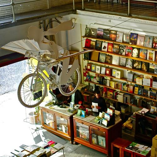 Ler Devagar (Slow reading) bookshop, Lisbon Factory, Alcantara, Lisbon, Portugal