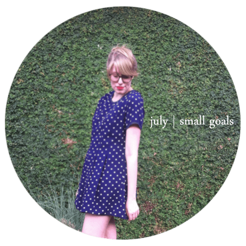 small-goals-july