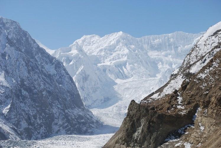 Hopar Glacier