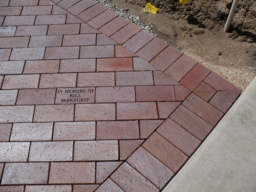 Garden Renovation: Days 21-24 – Laying Brick & Permeable
