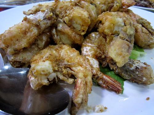 MMS salty crusty prawns
