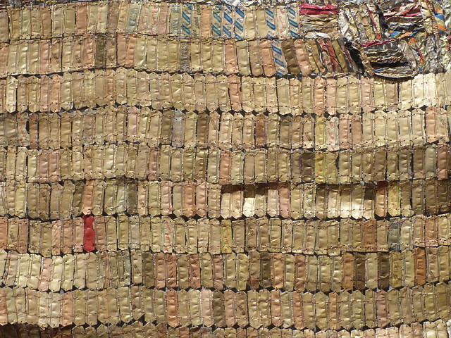 A000984 / el anatsui at the deYoung museum