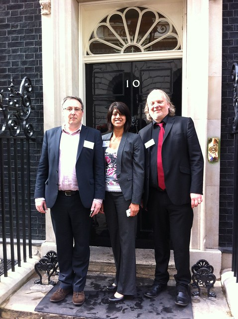 Outside 10 Downing Street