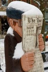Saint John : John Hooper Statue - Head in the News