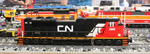 CN SD70M-2 right