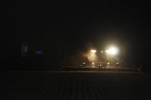 Using my night vision.
