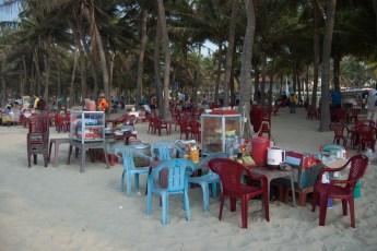 Garkpche am Strand