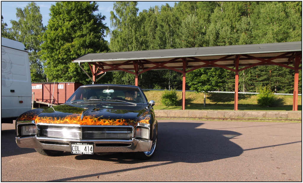 Flamed Buick Riviera