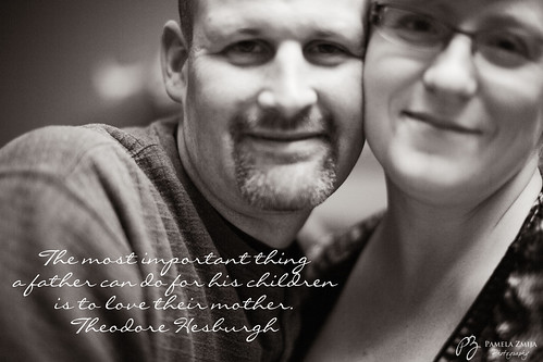 20120406-328C0116-BW-most important thing a father can do by {Pamela Zmija Photography}