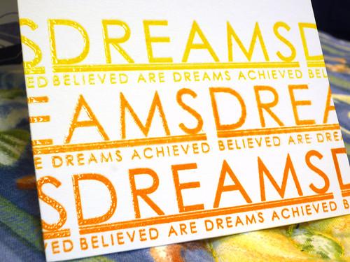 Graduate Dreams - Close Up
