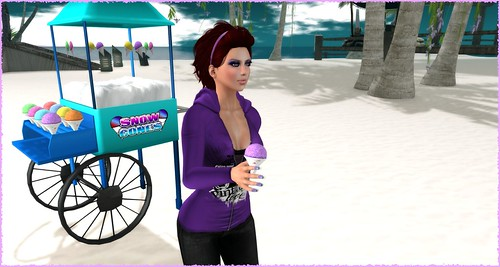 Ahhh... snow cone