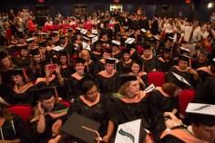 Tulane University – Decorated Graduation Caps
