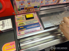 Mario coin slot game in Japan