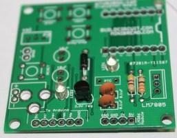 6- Solder 3.3V regulator