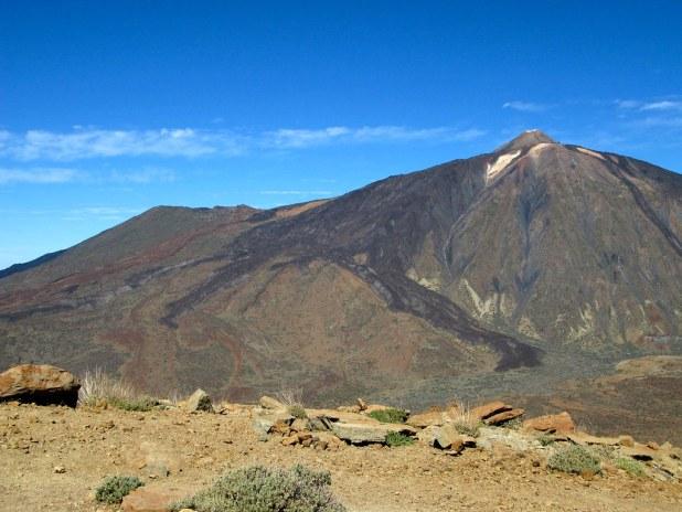 El Teide y Pico Viejo desde Guajara