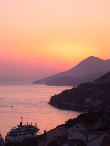 Croatia Sunset by Fottles