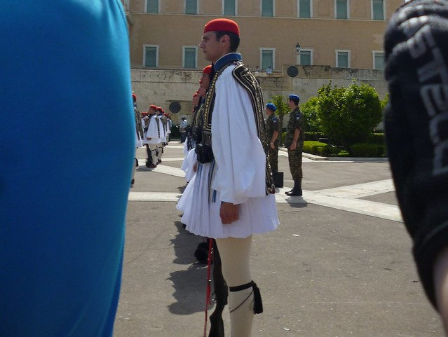 Ceremony on Sunday at Athen's Parliament
