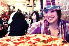 M-C at Lombardi's Pizza