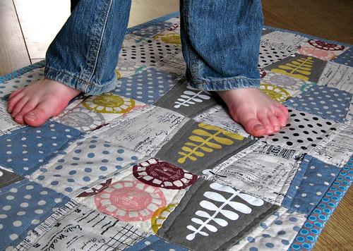 Quilt & feet