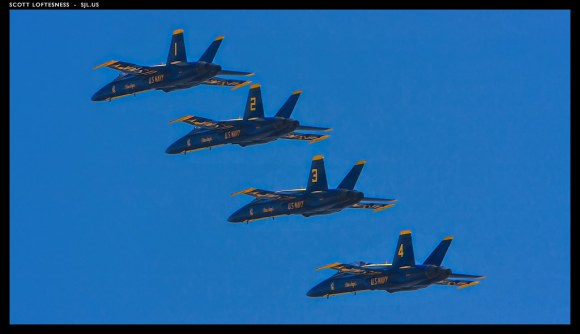 Echelon Departing - Blue Angels - 2009