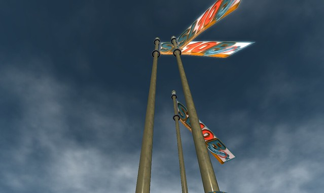 Flags are raised - Photograph by Pygar Bu