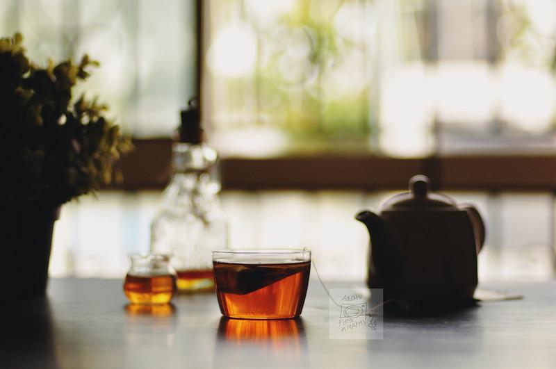 Day 174.365 - Backlit Tea (a week of Tea  - I)