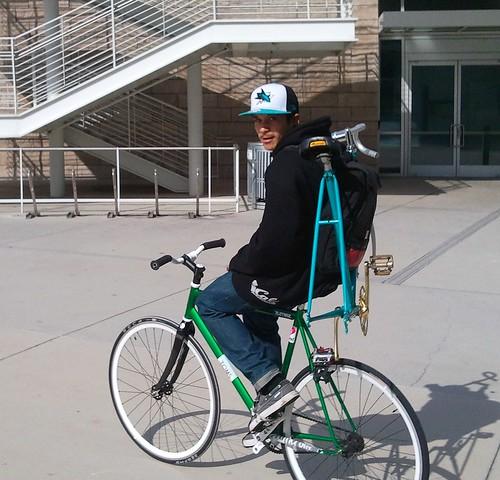 Bike portage San Jose