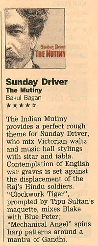 Sunday Driver FT review May2012